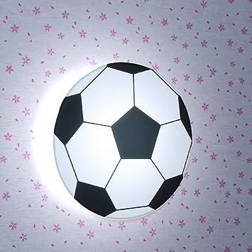 Juiang Runde Led Lichtquelle Fussball Wandlampe Theme Bar
