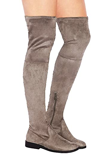 16006e10950e LFL by Lust For Life Rank ELUSIVE REBEL Over-the-Knee Thigh High Flat