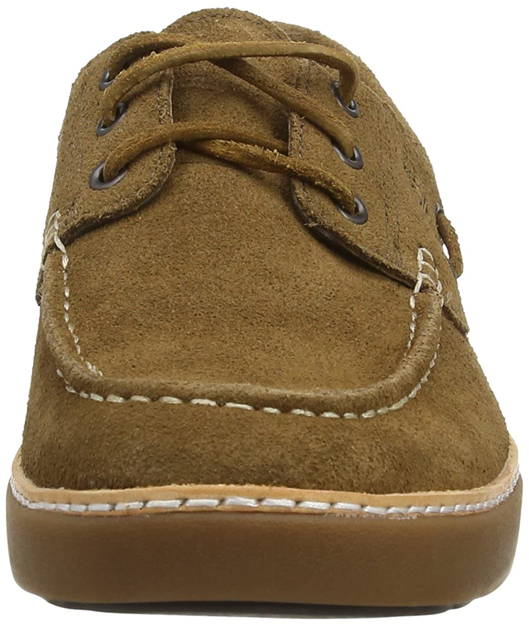 Timberland EK Hudston FTM_Boat Oxford, Mocasines para Hombre, marrón-Braun (Light Brown), 46 EU: Amazon.es: Zapatos y complementos
