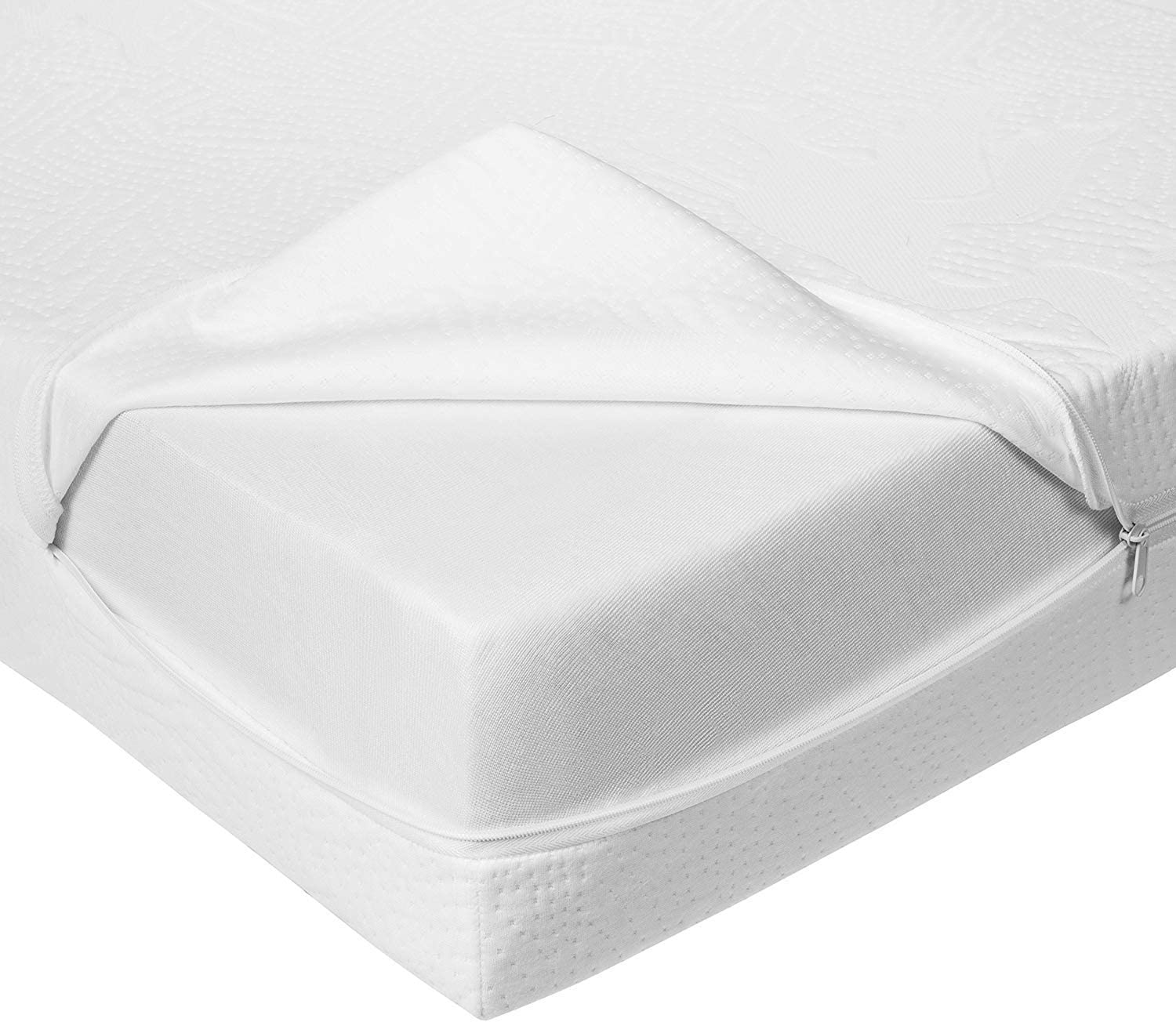 Bundle of Dreams Premium Organic Cotton Covered Water Repellent Two Stage Crib Mattress 28 x 52 x 5