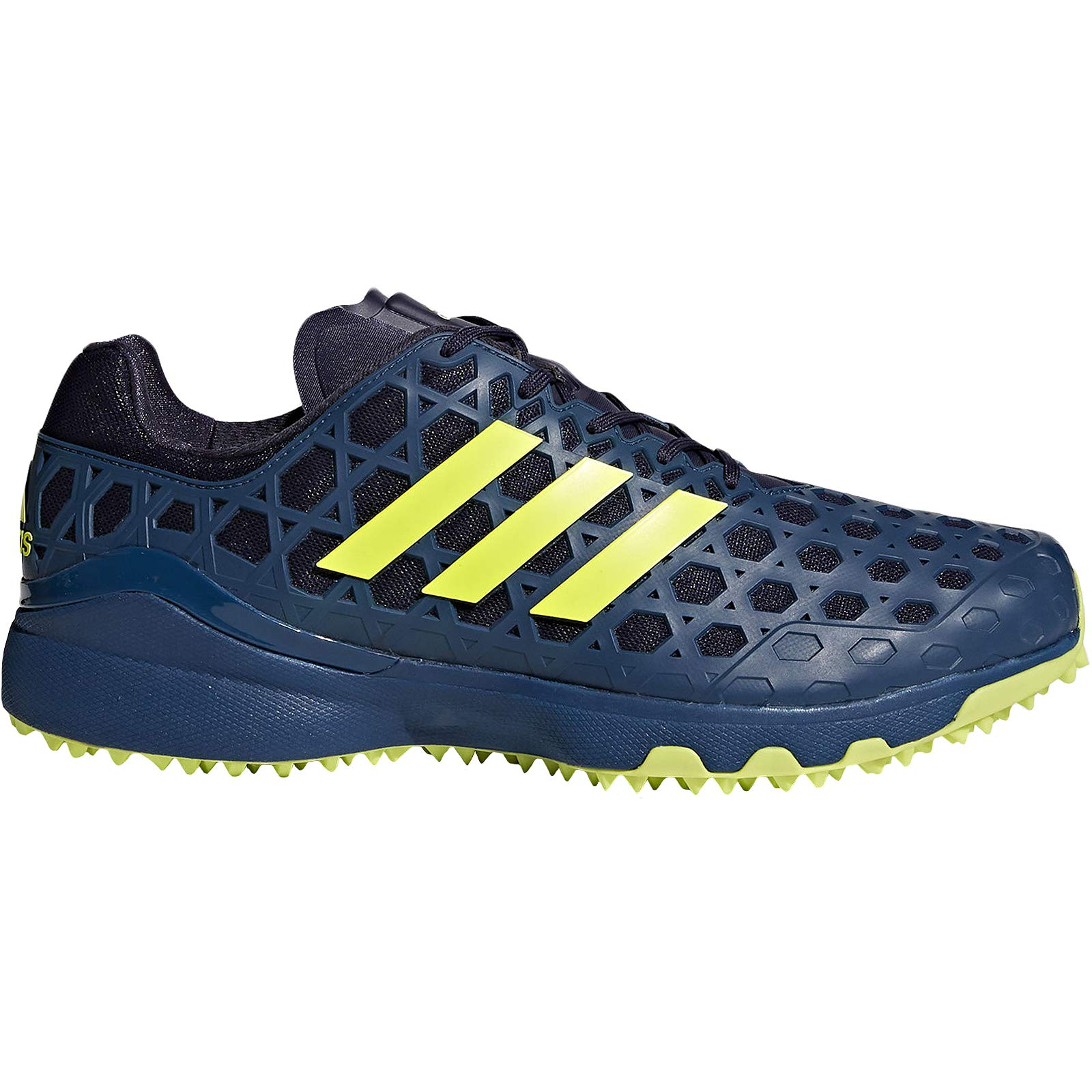 adidas Adizero Field Hockey Shoes Blue/Yellow