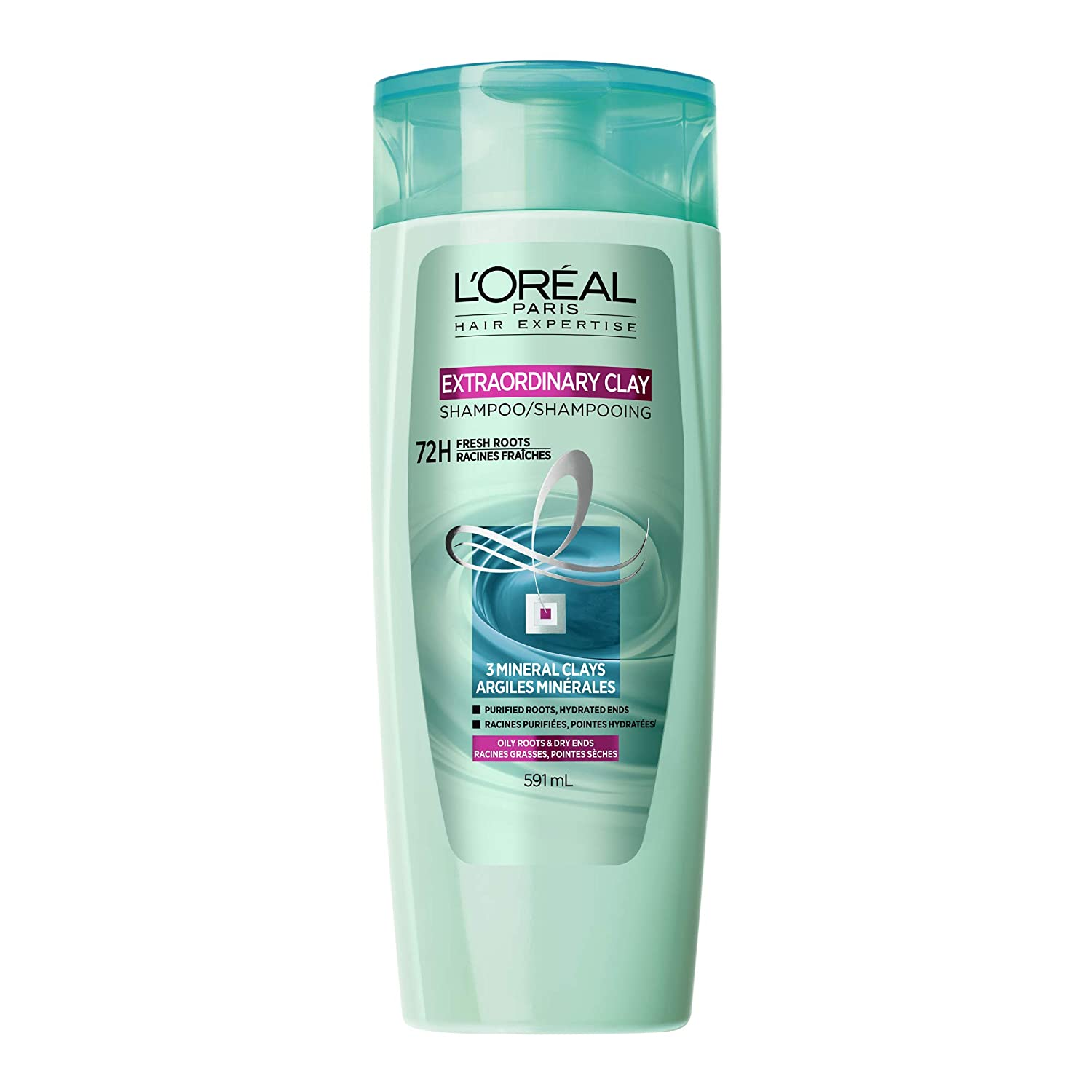L'Oreal Paris Hair Expertise Extraordinary Clay Dry Shampoo Instant Refresh, 150 mL L'Oreal Paris