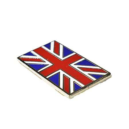 Supply Gb Union Jack Car Grille Badge Free Fixings Vehicle Parts & Accessories