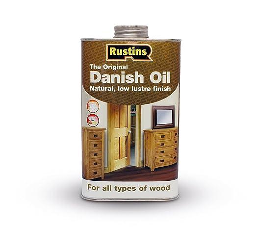 5 opinioni per Rustins-Olio per tek originale per legno, da esterni, varie dimensioni: 250 ml,