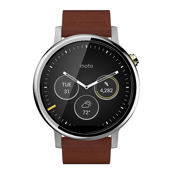 Motorola Moto 360 2Gen Reloj Inteligente Plata LCD 3,96 cm ...