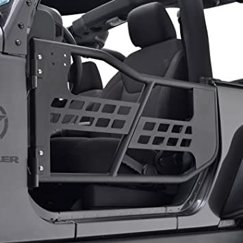 EAG 07-17 Jeep Wrangler JK Front Tubular Doors Without Mirror for 07-17 : wrangler doors - Pezcame.Com