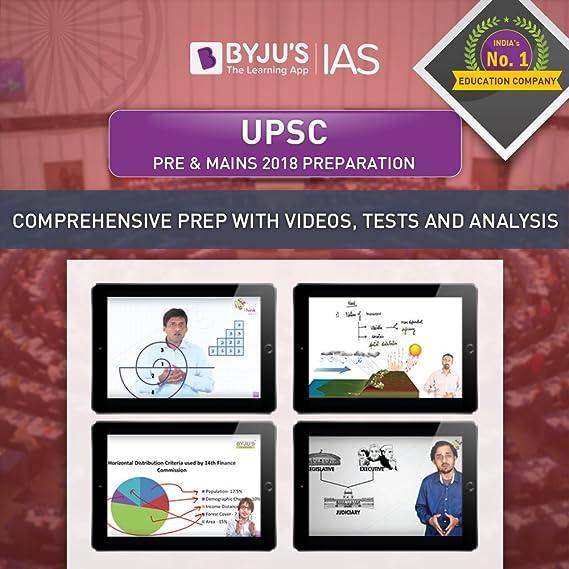 BYJU'S UPSC Pre & Mains 2019 Preparation (Tablet)
