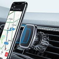 LISEN Magnet handyhalterung fürs Auto, [6 Starke Magnete] magnethalter Handy Auto [Upgraded CLAMP] handyhalterung Magnet [360° Drehbar] handyhalterung Magnet Für iPhone Samsung, Huawei etc