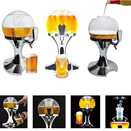 TrAdE shop Traesio Broche Cerveza dispensador Hielo spillabirra pinchador Fiestas Bar Pub casa Party