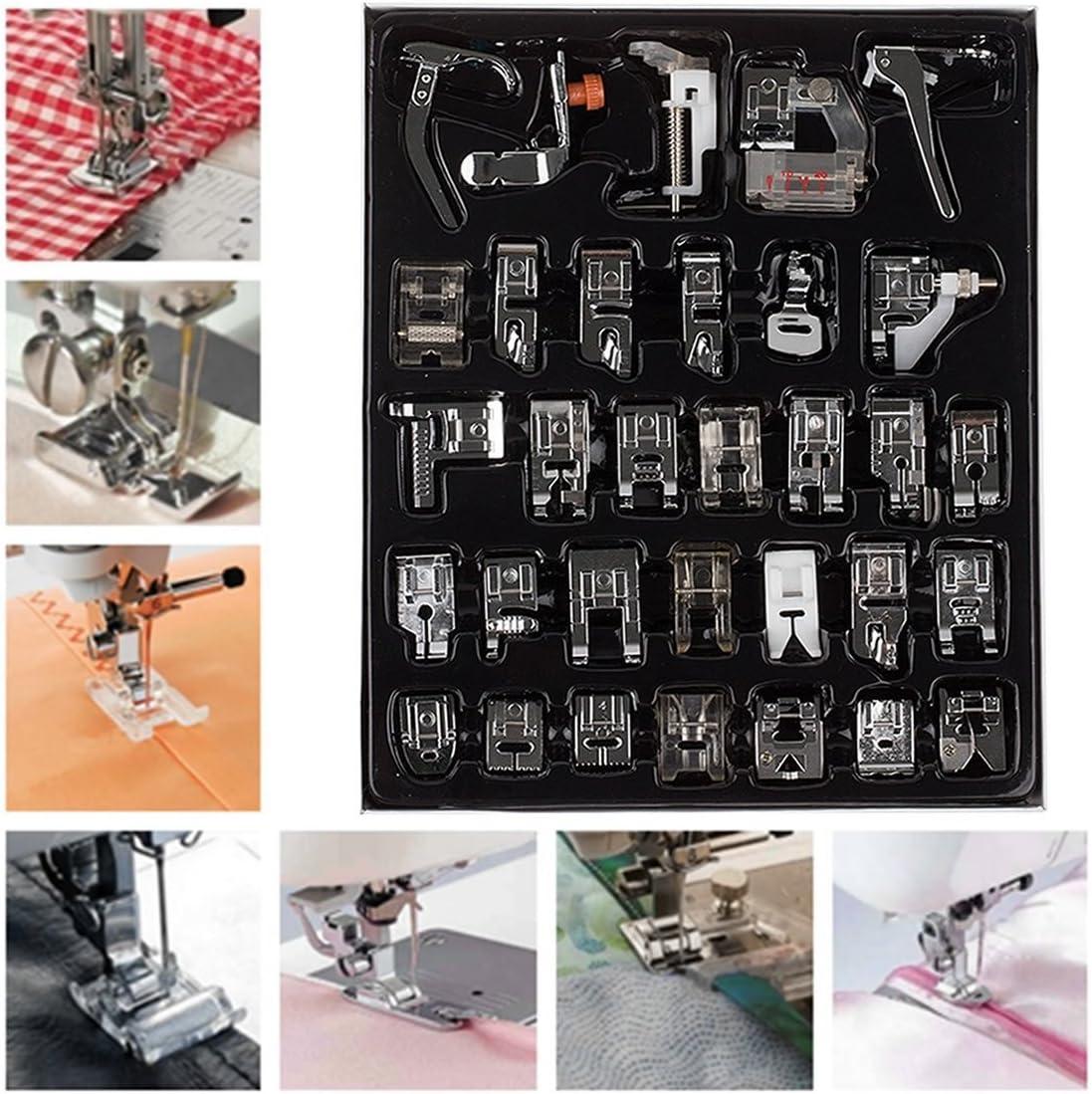 Veewon nacional. Kit de selección de prensatelas para máquina de ...