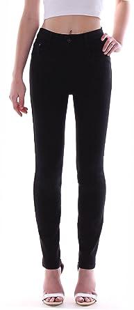 bcb4c23f95a5bf Damenjeans Hochschnitt Jeans Stretch High Waist Röhrenjeans schwarz 36 bis  50 Übergröße-n Damen-