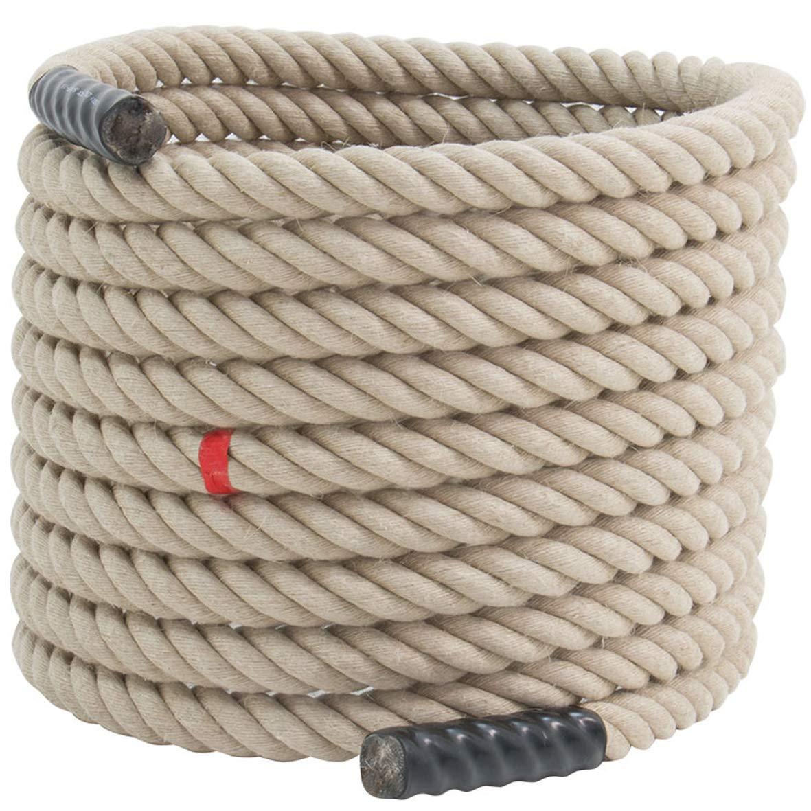 ATX® Tau aus echtem Langhanf Battle Rope Schwungseil   Schlagseil