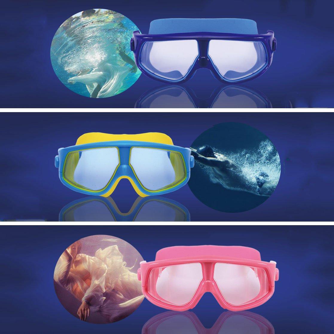 William 337 337 337 Schwimmbrille Kinder Kinder Silikon Wasserdichte Schwimmbrille Pool Wasser für Jungen Schwimmen Goggle (Farbe   B) B07FFS1BHP Schwimmbrillen Qualität zuerst 87435d
