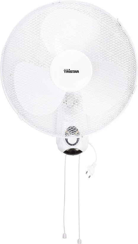 Tristar ve-5874 - ventilador de pared, 40.cm, oscilante, control ...