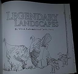 Legendary Landscapes Coloring Book Journey Witek