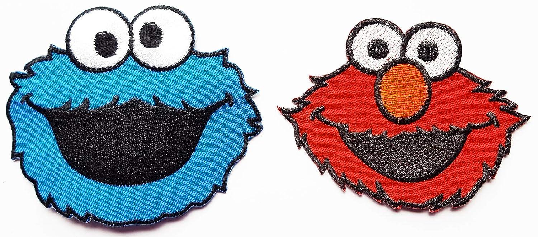 Amazon Com Elmo Face Sesame Street Cookie Monster Character