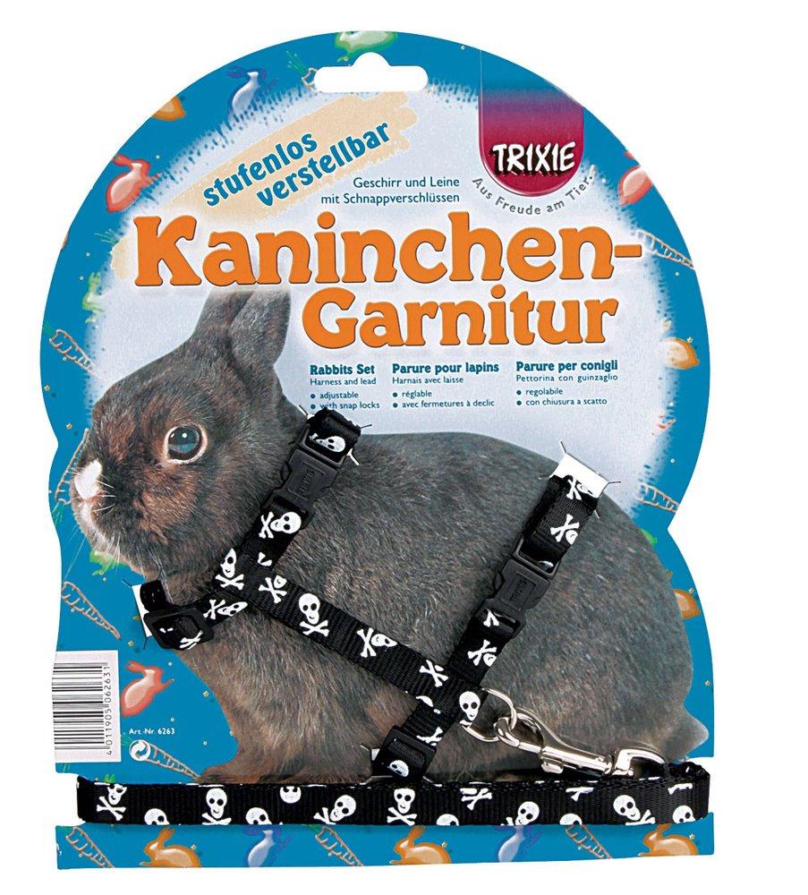 Trixie 61491 Kaninchengarnitur, stufenlos verstellbar, 25-44 cm/10 mm/1.20 m