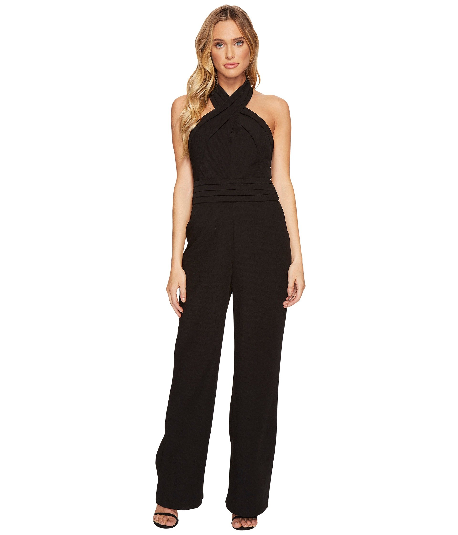 Adelyn Rae Women's Cindy Jumpsuit Black Medium
