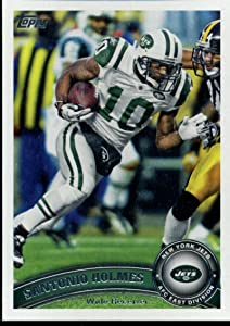 Football NFL 2011 Topps #320 Santonio Holmes #320 NM NY Jets