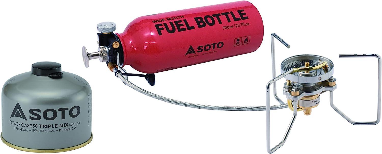 SOTO StormBreaker - Estufa de combustible múltiple