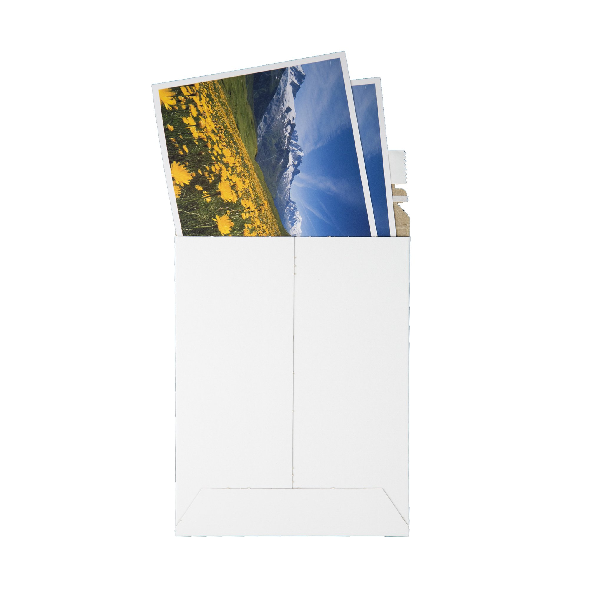 Quality Park Extra-Rigid Fiberboard Photo Document Mailers, Redi-Strip, White, 12.75x15, 25 per box (64019) by Quality Park (Image #4)