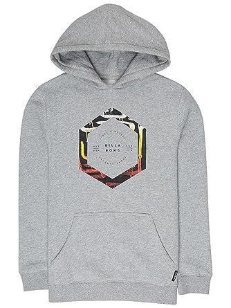 Billabong Sudadera Boys Howling Sweatshirt Grey Heather: Amazon.es: Ropa y accesorios