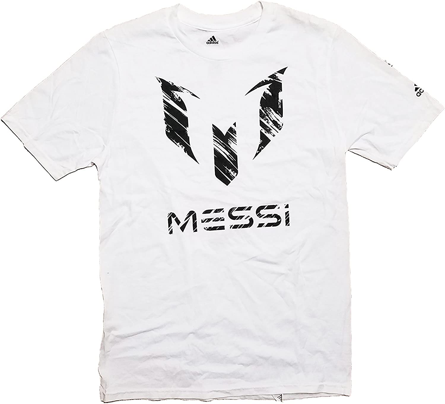 Amazon Com Lionel Messi Scratch White Barcelona Fc Personal Logo Youth X Large 18 Clothing