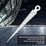 Akozon Taper Gauge 15mm High Precision Stainless