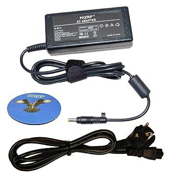 HQRP Cargador / Adaptador de CA para HP Pavilion dv5000 dv6000 dv1000 dv4000 + HQRP Posavasos