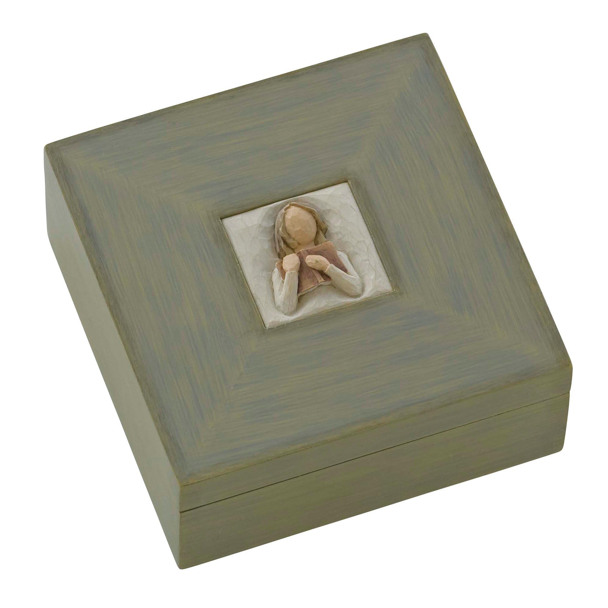 Demdaco Willow Tree Memory Box, Love Learning