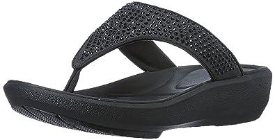 clarks wave flip flops