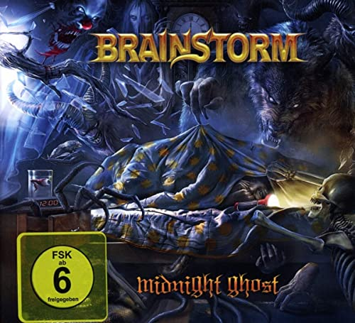 Brainstorm - Midnight Ghost (Digibook)