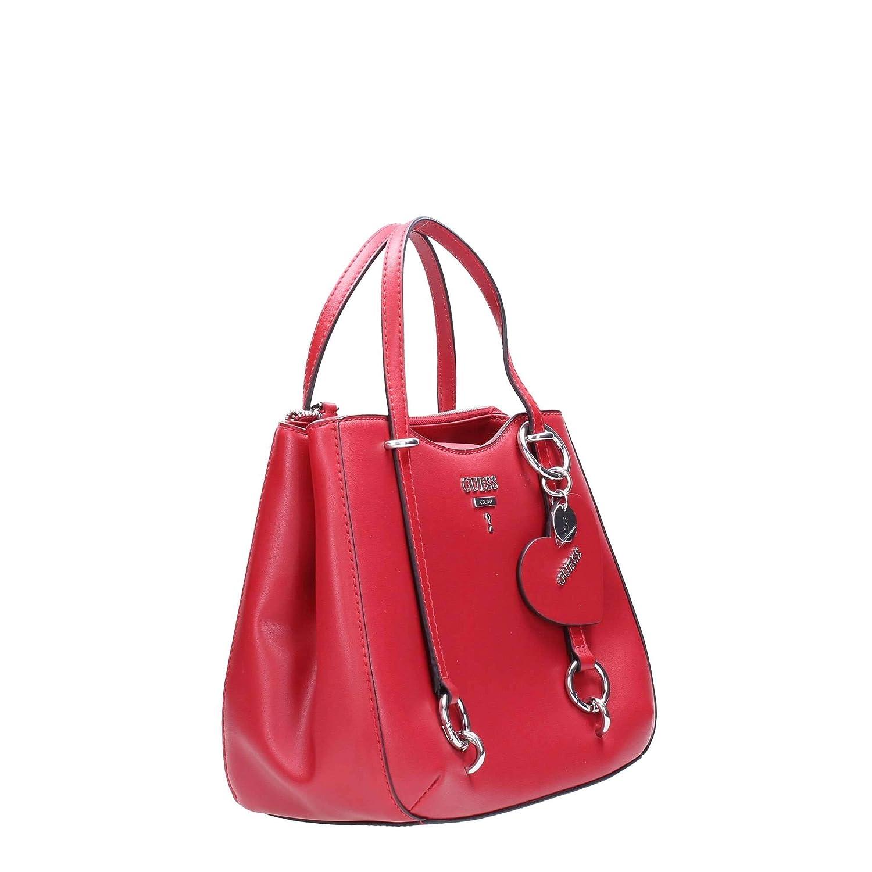 f5f7c980a8 HWVY7170050 Crimson Guess GUESS HANDBAG PRE Borsa Donna: Amazon.fr:  Vêtements et accessoires