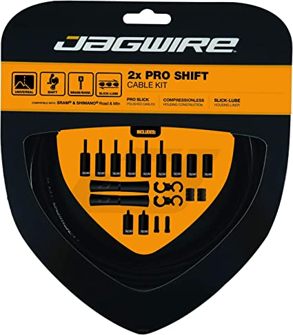 Jagwire Pro Shift Kit Road//Mountain SRAM//Shimano Orange