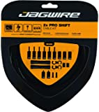 Jagwire - Universal 2X Pro Shift Kit  for Road, MTN, and Gravel Bike   SRAM and Shimano Shifter Compatible, Polished…