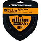 Jagwire - Universal 2X Pro Shift Kit |for Road, MTN, and Gravel Bike | SRAM and Shimano Shifter Compatible, Polished…
