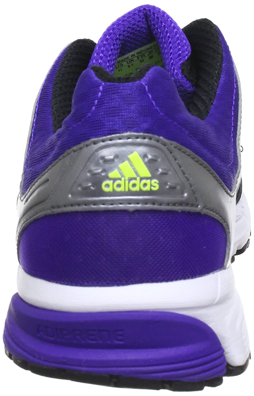 adidas Duramo Nova G96800 Damen Laufschuhe  44 EUSchwarz (Black 1 / Metallic Silver / Blast Purple F13)