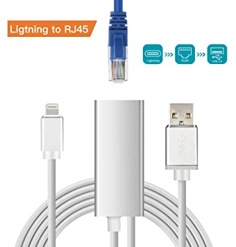 Brong Lightning auf RJ45 Ethernet Adapter,10/100: Amazon.de ...