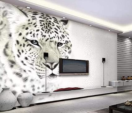 Wall Murals 3d Wallpaper Modern Fashion Leopard 3d Wall Mural