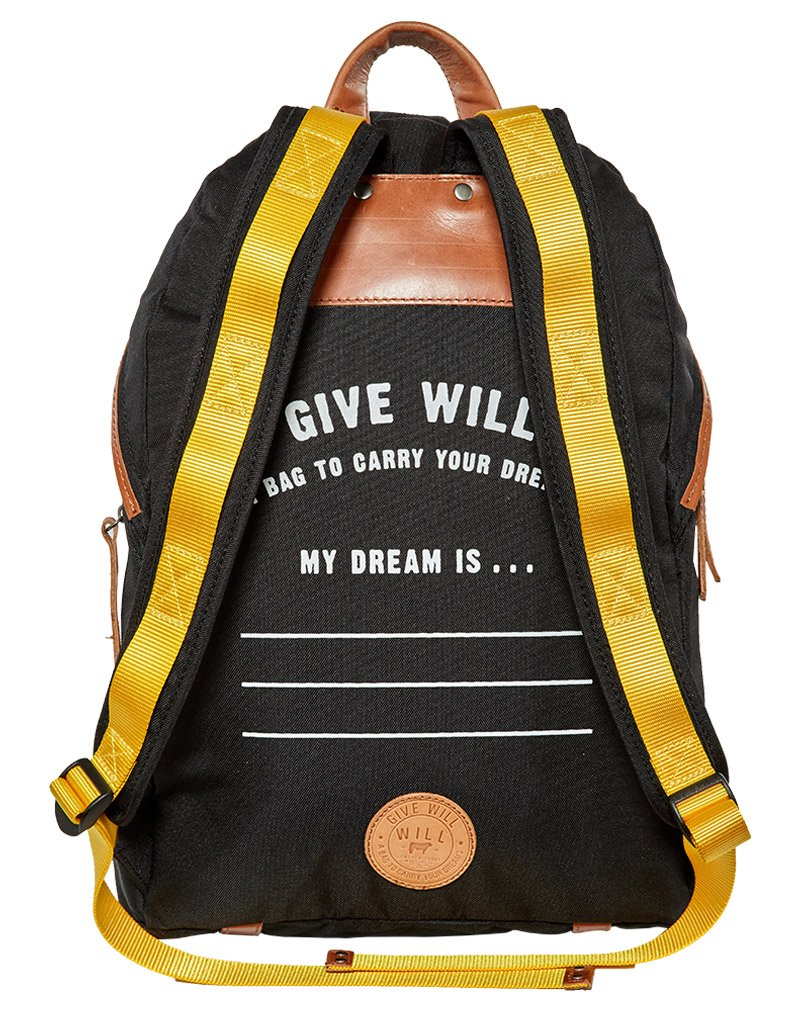 Khaki Large Give Will Backpack