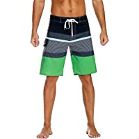 YGE.I.L25 Men Swim Suits Sea Otter Summer Vacation Beach Board Short with Pocket