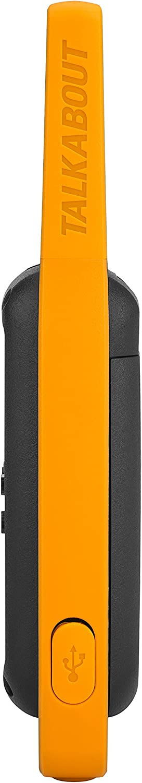 Motorola Talkabout T82 Extrem - Walki-Talkis, Alcance hasta 10 Km, Pantalla Oculta, Linterna LED, color Negro y Amarillo: Amazon.es: Electrónica