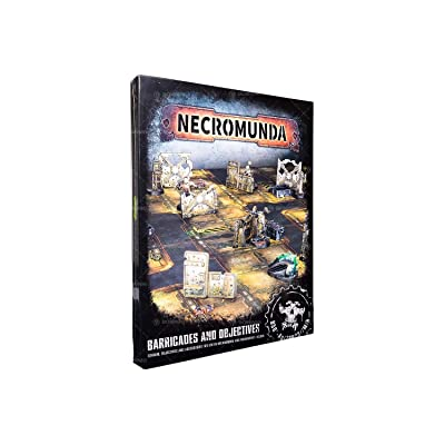 "Games Workshop 99120599001"" Necromunda Barricades and Objectives Miniature: Toys & Games"