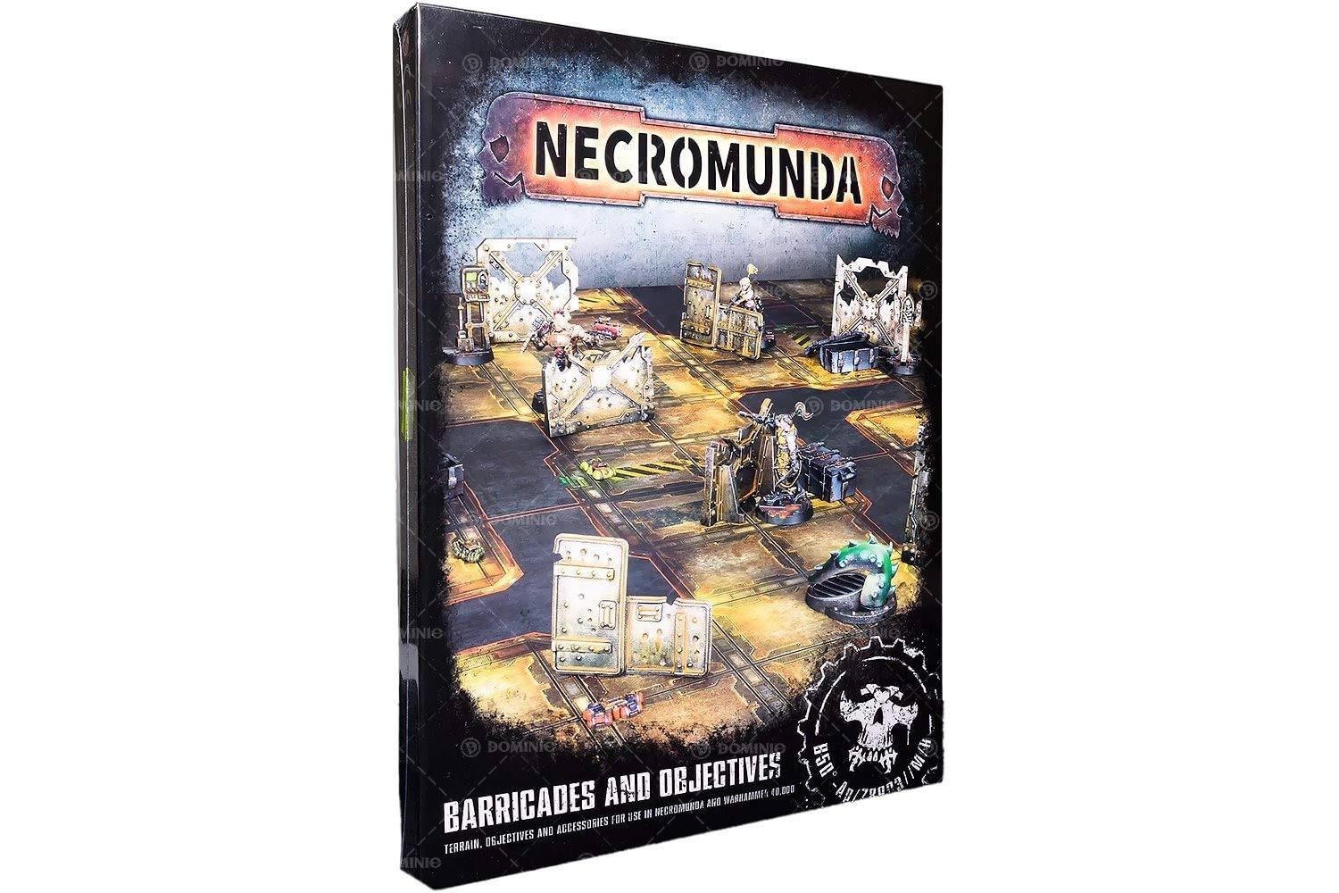Games Workshop 99120599001'' Necromunda Barricades and Objectives Miniature