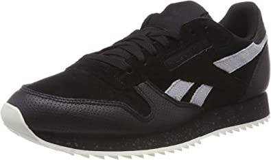 Excelente dosis realce  Reebok Men's Classic Leather Ripple Sm Trainers: Amazon.co.uk ...