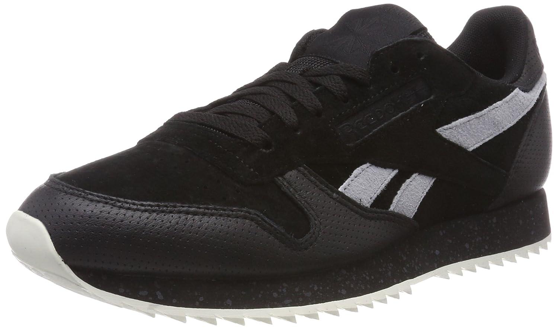 Reebok Herren Classic Leather Ripple Sm Gymnastikschuhe schwarz