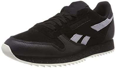 cb27b4b7844 Reebok Men s s Classic Leather Ripple Sm Trainers  Amazon.co.uk ...