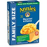 Annie's Family Size Classic Mild Cheddar Macaroni & Cheese, 6 Boxes, 10.5oz (Pack of 6)