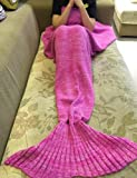 "Amazon Price History for:Holidayli Mermaid Tail Blanket for Adults Super Soft Sleeping Bags 71""x35.5"" (Rose)"