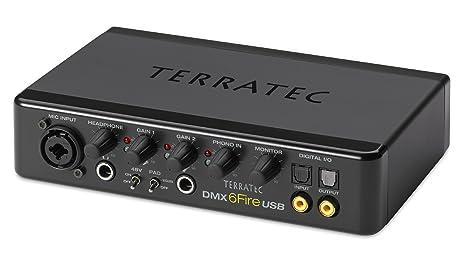 Terratec Soundsystem DMX 6Fire USB 5.1 Canales - Tarjeta de Sonido (5.1 Canales, 24 bit, 114 dB, 24-bit/192kHz, USB, 1,8 m)